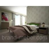 Деревянная кровать ТИС Юлия 2 дуб 120х200