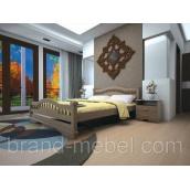 Деревянная кровать ТИС Атлант 7 бук 140х200