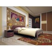Деревянная кровать ТИС Новая 1 сосна 120х200