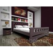 Деревянная кровать ТИС Атлант 9 дуб 90х200