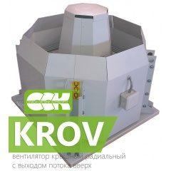 KROV вентиляторы крышные радиальные с выходом потока вверх