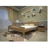 Дерев'яне ліжко ТИС Модерн 2 дуб 90х200