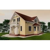 Проект двоповерхового будинку М2-128 240 м2