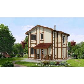 Проект двоповерхового будинку М2-102 102 м2