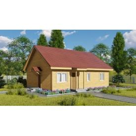 Проект одноповерхового будинку М2-118 89 м2