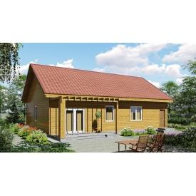 Проект одноповерхового будинку М2-117 124 м2