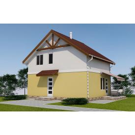 Проект двоповерхового будинку М2-112 121 м2