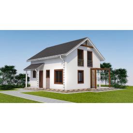 Проект двоповерхового будинку М2-103 120 м2