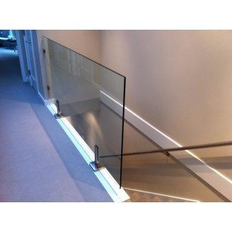 Скляне огородження Студія гартованого скла 1000х1000 мм