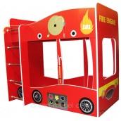 Дитяче двоярусне ліжко машина Viorina-Deko Форсаж Пожежна