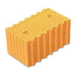 Керамический пустотелый поризованный блок Керамейя ТеплоКерам 2,12 НФ 250х120х138 мм