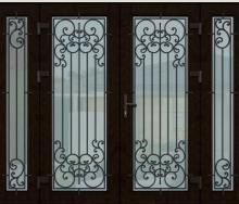 Входные двери как произведение искусства! Новые дизайны металлопластиковых и алюминиевых дверей!