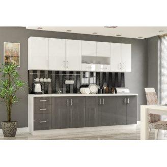 Кухня Мебель-Сервис Гамма 2 м матовая
