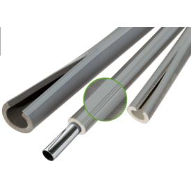 Теплоізоляція для труб із спіненого поліетилену Thermaflex Eco Line R red 6 мм ДУ 22 мм 10 м