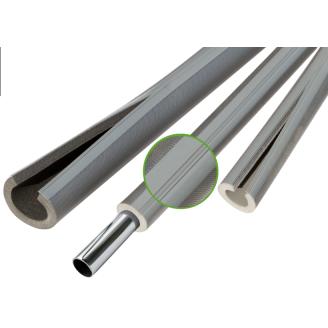 Теплоизоляция для труб из вспененого полиэтилена Thermaflex Eco Line R red 6 мм ДУ 28 мм 10 м