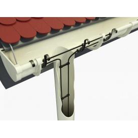 Кабельный обогрев для водосточной трубы и желоба