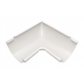 Внутрішній кут жолоба Акведук Преміум 90 градусів 150 мм білий RAL 9010