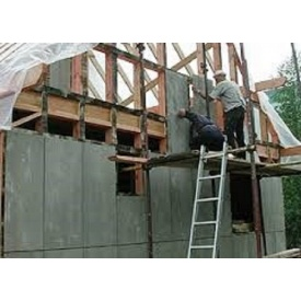 Цементно-стружечная плита 3200x1200x10 мм для каркасных конструкций