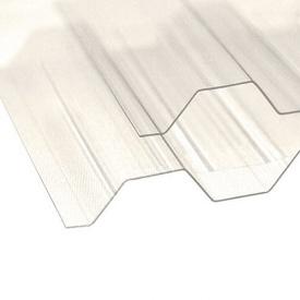 Профилированный поликарбонат TM Borex 1,05 м 4,0 м 0,8 мм прозрачный
