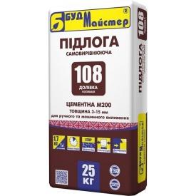 Наливной пол Будмастер Долівка-108 25 кг