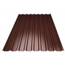 Профнастил 2х1,15 м коричневий 0,40 мм