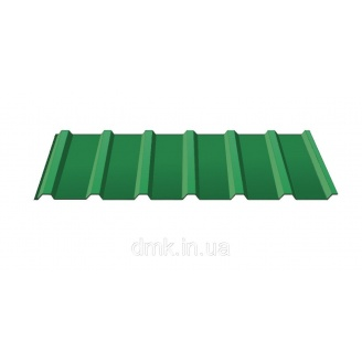 Профнастил покрівельний С-18 0,45 PE зелений (RAL 6005)