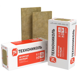 Базальтовая ВАТА ТехноНИКОЛЬ ТЕХНОФАС ЭФФЕКТ 1200х600х100 мм