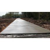 Устройство бетонных дорог