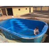 Создание бассейна возле частного дома