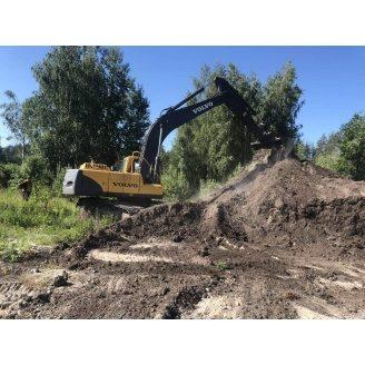 Аренда гусеничного экскаватора Volvo EC240