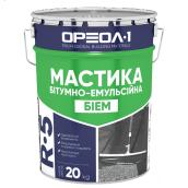 Мастика бітумно-емульсійна Ореол-1 БіЕм 20 кг