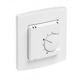 Термостат Kermi x-net вбудовуваний 230 В 81х85х16 мм білий