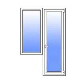 Балконний блок Стімекс Кommerling 88+ 1900х2100 мм