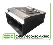 Вентилятор для канальной вентиляции C-PKV-100-50-4-380