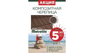 Зимой и летом - цены на крышу ЛУЧШЕ НЕТУ! 5.99 EUR/лист!!!