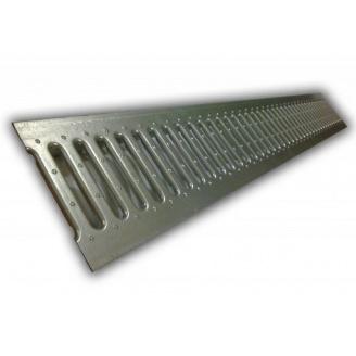 Решітка стальна штампована до лотків 100 (без отворів)