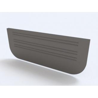 Заглушка для лотков пластиковых 100.65 мм (черный)