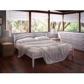Кровать Tenero Маранта двуспальная 1200х1900 мм белая
