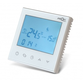 Електоронниий терморегулятор Profitherm WiFi 86х86х13,3 мм белый