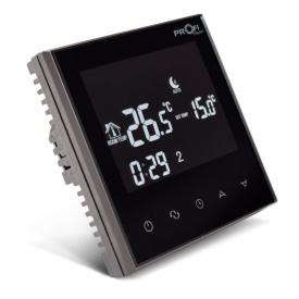 Электронный терморегулятор Profitherm Wifi 86х86х13,3 мм черный