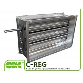 Воздушный клапан вентиляционный унифицированный C-REG-100-50