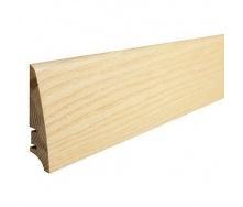 Плінтус дерев'яний Barlinek P30 Ясен 78х18х2200 мм