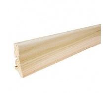 Плінтус дерев'яний Barlinek P20 Ясен білий матовий лак 58х20х2200 мм