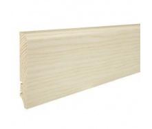 Плинтус деревянный Barlinek P61 Ясень белый матовый лак 90х16х2200 мм