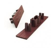 Заглушка к профилям для террасной доски Woodplast Legro