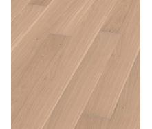 Паркетна дошка BOEN Plank однополосная Дуб Andante 2200х181х14 мм вибілена лак матовий