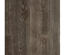 Паркетная доска DeGross Дуб коричневый с серебром браш 1200х100х15 мм