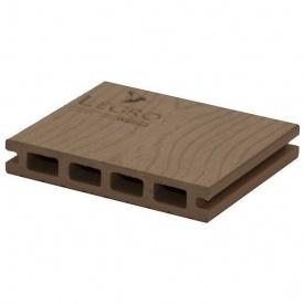 Терасна дошка Woodplast Legro пустотіла 150x25x5800 мм walnut