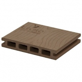 Террасная доска Woodplast Legro пустотелая 150x25x5800 мм walnut