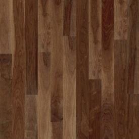 Паркетна дошка BOEN Plank односмугова Горіх американський Andante 2200х138х14 мм олія